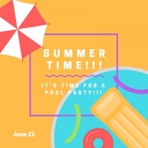 Summer officially starts on June 21!