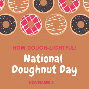 Go Grab a Doughnut on Nov. 5!