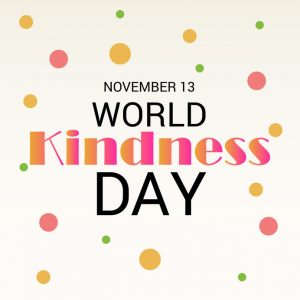 November 13 is World Kindness Day!