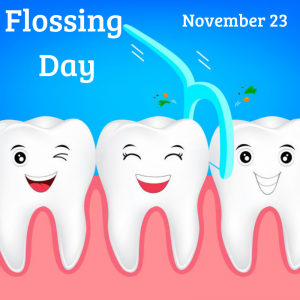 November 23 is National Flossing Day!
