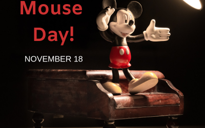 Nov. 18 is Mickey Mouse Day