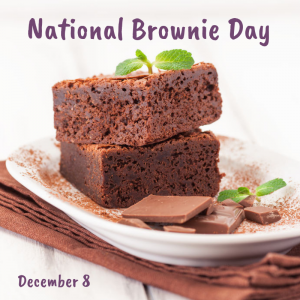 National Brownie Day is December 8