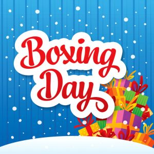 Boxing Day is Dec. 26
