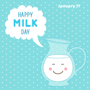 National Milk Day – Jan. 11