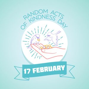 Feb. 17 is Random Acts of Kindness Day