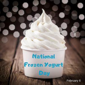 National Frozen Yogurt Day – Feb. 6
