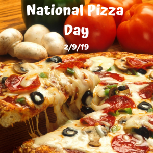 National Pizza Day is February 9!
