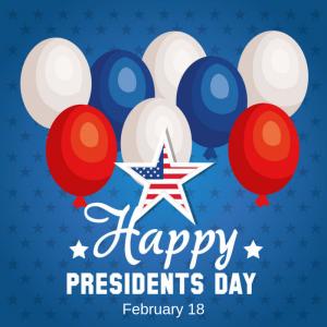 President's Day – February 18