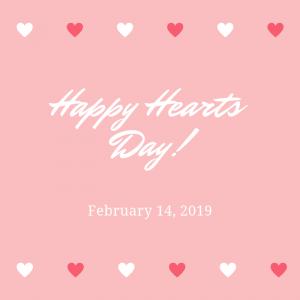Happy Hearts Day!