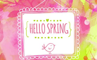 Spring Begins on March 20!