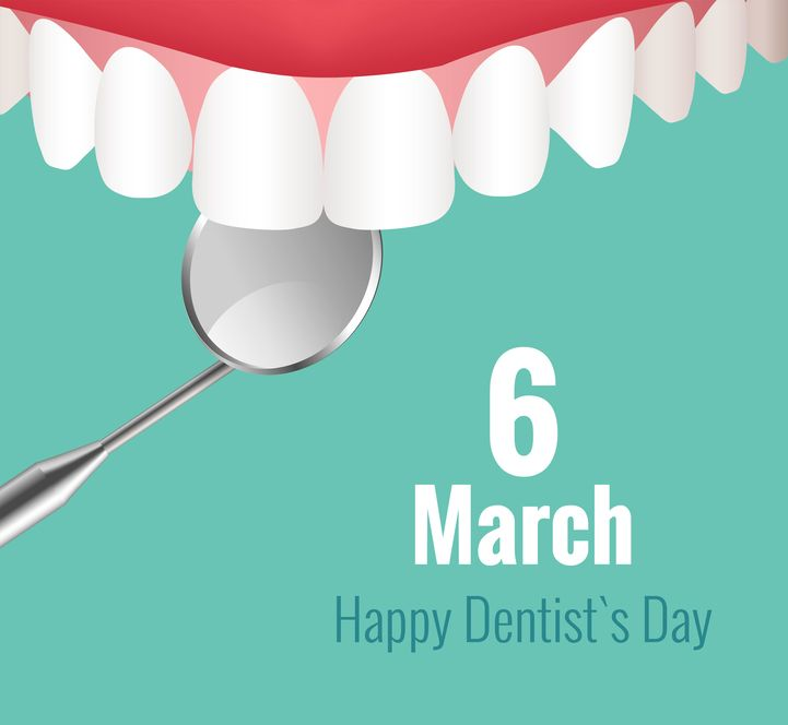 National Dentist's Day is March 6!