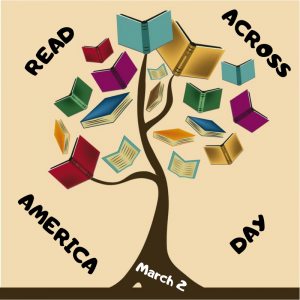 Grab a book and read on March 2!