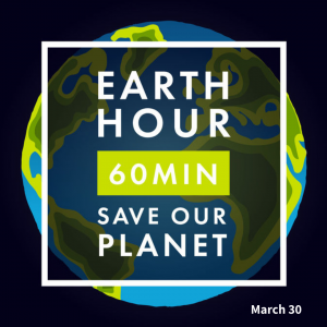Save the Planet on March 30!