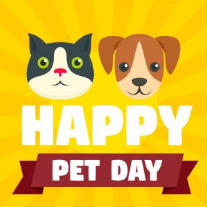 April 11 is National Pet Day!