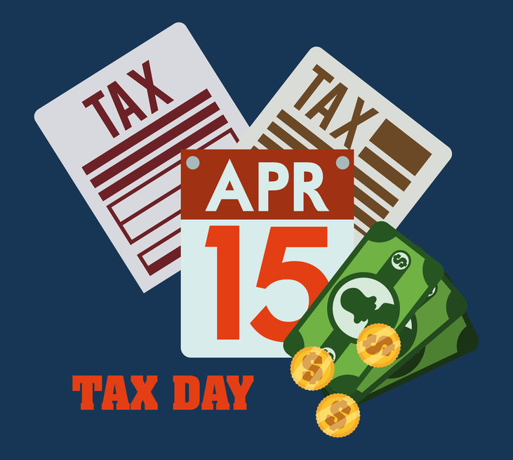 Taxes Due on April 15!