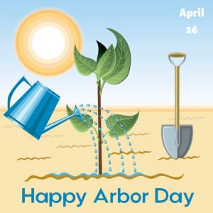 Plant a Tree on April 26!
