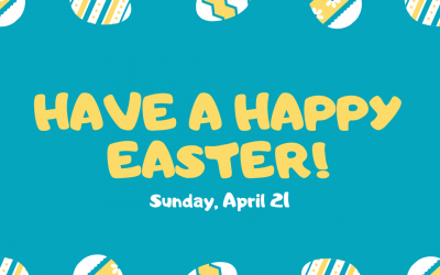 Happy Easter – April 21