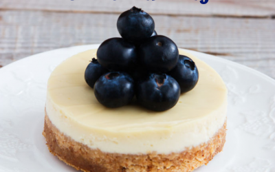 National Blueberry Cheesecake Day is May 26!
