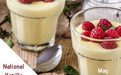 National Vanilla Pudding Day (May 22)