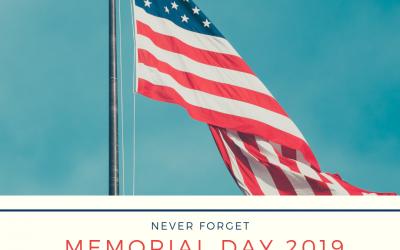 Memorial Day (May 27)