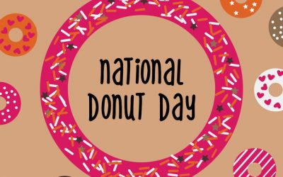 June 7 is National Donut Day!