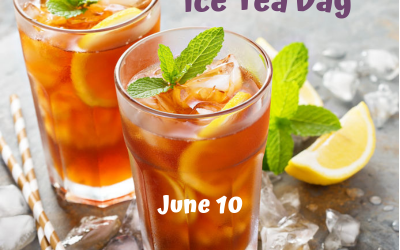 June 10 is National Ice Tea Day!