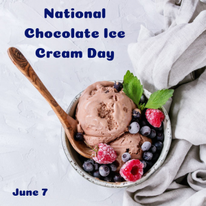 Grab a Spoon and a Bowl for Chocolate Ice Cream Day!