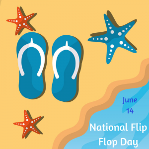 June 14 is National Flip Flop Day!