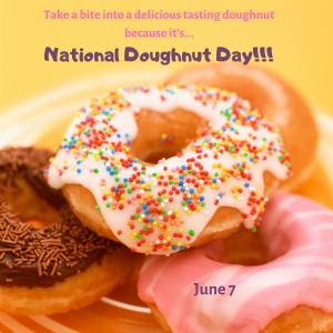 Bite into a Doughnut on June 7!