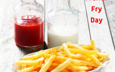 National French Fry Day is July 13