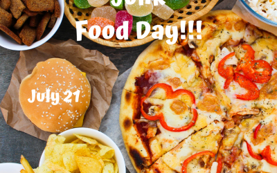 July 21 is National Junk Food Day!