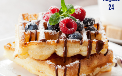 National Waffle Day is Aug. 24