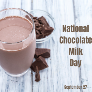 National Chocolate Milk Day!