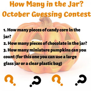 October Guessing Contest
