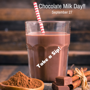 Take a Sip of Chocolate Milk!