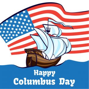 October 14 is Columbus Day!