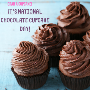Oct. 18 is Chocolate Cupcake Day!