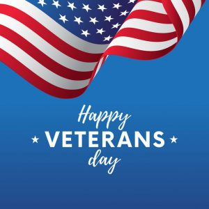 Nov. 11 – Veteran's Day