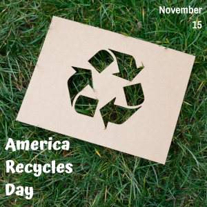 America Recycles on November 15!