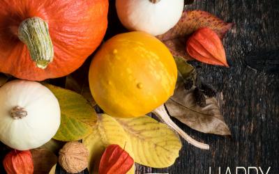 November 28 is Thanksgiving!