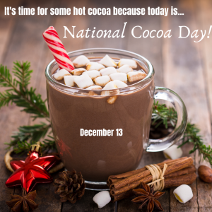 It's time for some Hot Cocoa!
