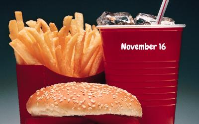 National Fast Food Day (Nov. 16)