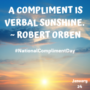 Give a Compliment on Jan. 24