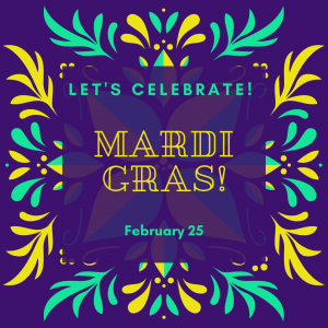 Let's Celebrate! Mardi Gras!
