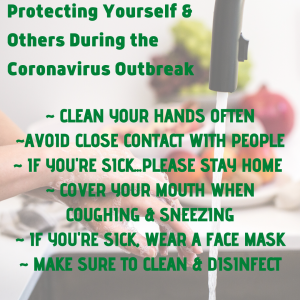 Protect Yourself & Others Around During Coronavirus Outbreak