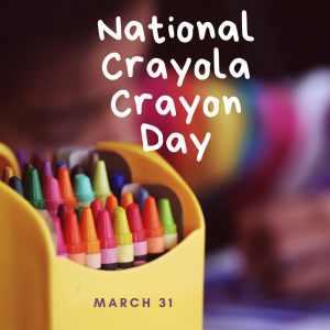 Let's Color on March 31!