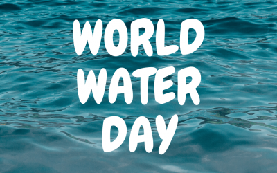 March 22 is World Water Day!