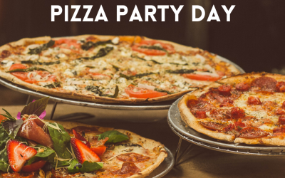 May 15 is Pizza Party Day!