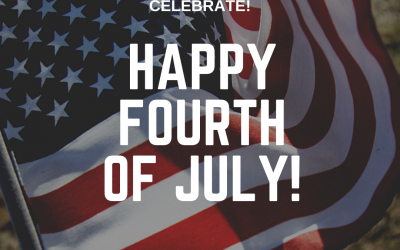 Celebrate! Happy 4th of July!