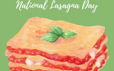 National Lasagna Day is July 29!